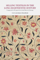 Selling Textiles in the Long Eighteenth Century