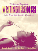 Pdf Within and Beyond the Writing Process in the Secondary English Classroom