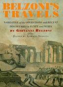 Belzoni's Travels