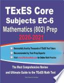 TExES Core Subjects EC 6 Mathematics  802  Prep 2020 2021
