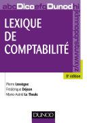 Pdf Lexique de comptabilité - 8e édition Telecharger