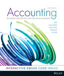 Cover of Accounting: Business Reporting for Decision Making