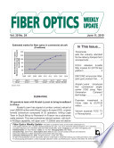 Fiber Optics Weekly Update June 11  2010