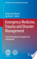 Emergency Medicine  Trauma and Disaster Management Book