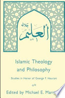 Islamic Theology And Philosophy