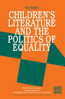 Pdf Childrens Literature and the Politics of Equality Telecharger