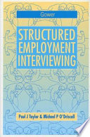 Structured Employment Interviewing