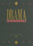 Drama Criticism  Volume 27