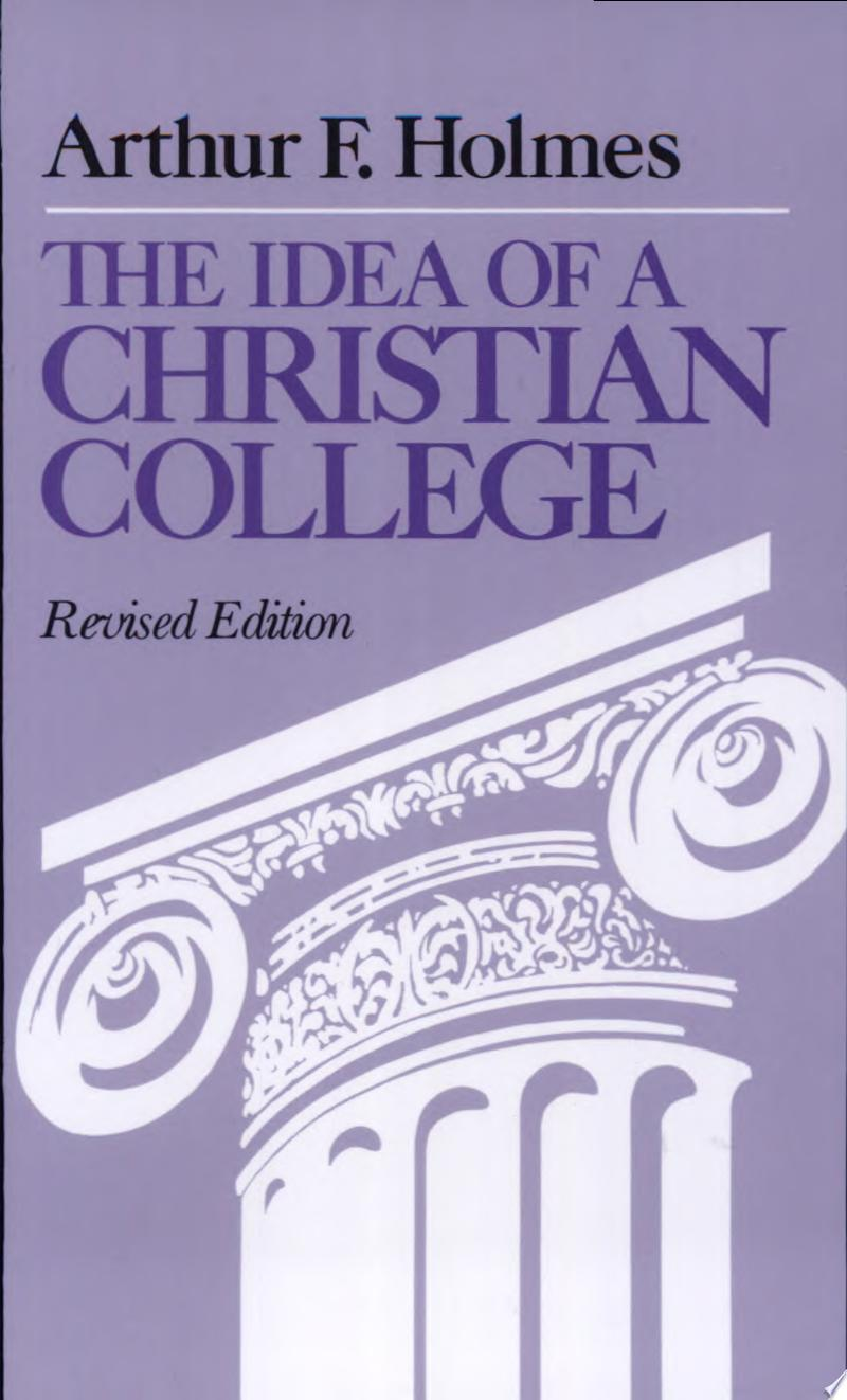 The Idea of a Christian College banner backdrop