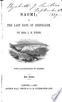 Naomi  or  The last days of Jerusalem