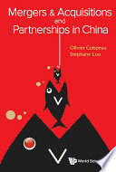 Mergers  amp  Acquisitions and Partnerships in China