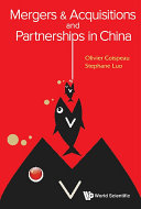 Mergers & Acquisitions and Partnerships in China Pdf/ePub eBook