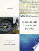 Encyclopedia of Archival Science