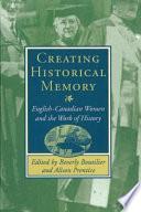 Creating Historical Memory