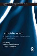A Hospitable World? Pdf/ePub eBook