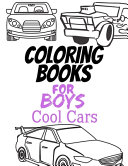 Coloring Books for Boys Cool Cars