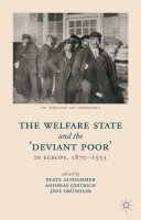 The Welfare State and the 'Deviant Poor' in Europe, 1870-1933 [Pdf/ePub] eBook