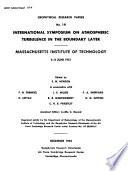 International Symposium on Atmospheric Turbulence in the Boundary Layer