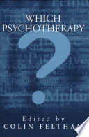 Which Psychotherapy?
