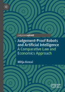 Judgement Proof Robots and Artificial Intelligence