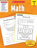 Scholastic Success With Math  Grade 1
