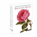 Royal Horticultural Society Address Book and Birthday Book