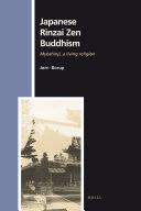 Pdf Japanese Rinzai Zen Buddhism