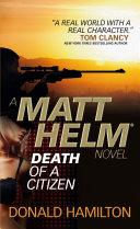 Matt Helm - Death of a Citizen Pdf/ePub eBook