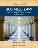Essentials of Business Law and the Legal Environment   Mindtap Business Law  1 Term 6 Months Access Card