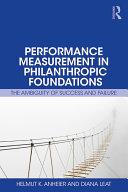 Performance Measurement in Philanthropic Foundations Pdf/ePub eBook