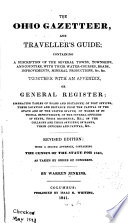 The Ohio Gazetteer  and Travelers Guide