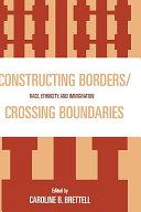 Constructing Borders/crossing Boundaries ebook