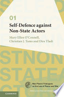 Self Defence against Non State Actors