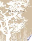 Chivalry is so Dead Pdf/ePub eBook