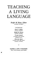 Teaching a Living Language