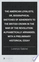 The American Loyalists