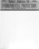 Indian Journal of Environmental Protection