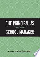 """The Principal as School Manager"" by William L. Sharp, James K. Walter"
