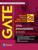 Gate 2020 For Civil Engineering 28 Previous Years Solved Question Papers Also For Gail Barc Hpcl By Pearson