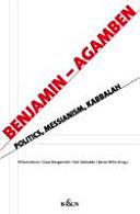 Benjamin - Agamben