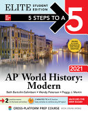 5 Steps to a 5  AP World History 2021 Elite Student Edition