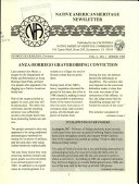 Native American Heritage Newsletter Book