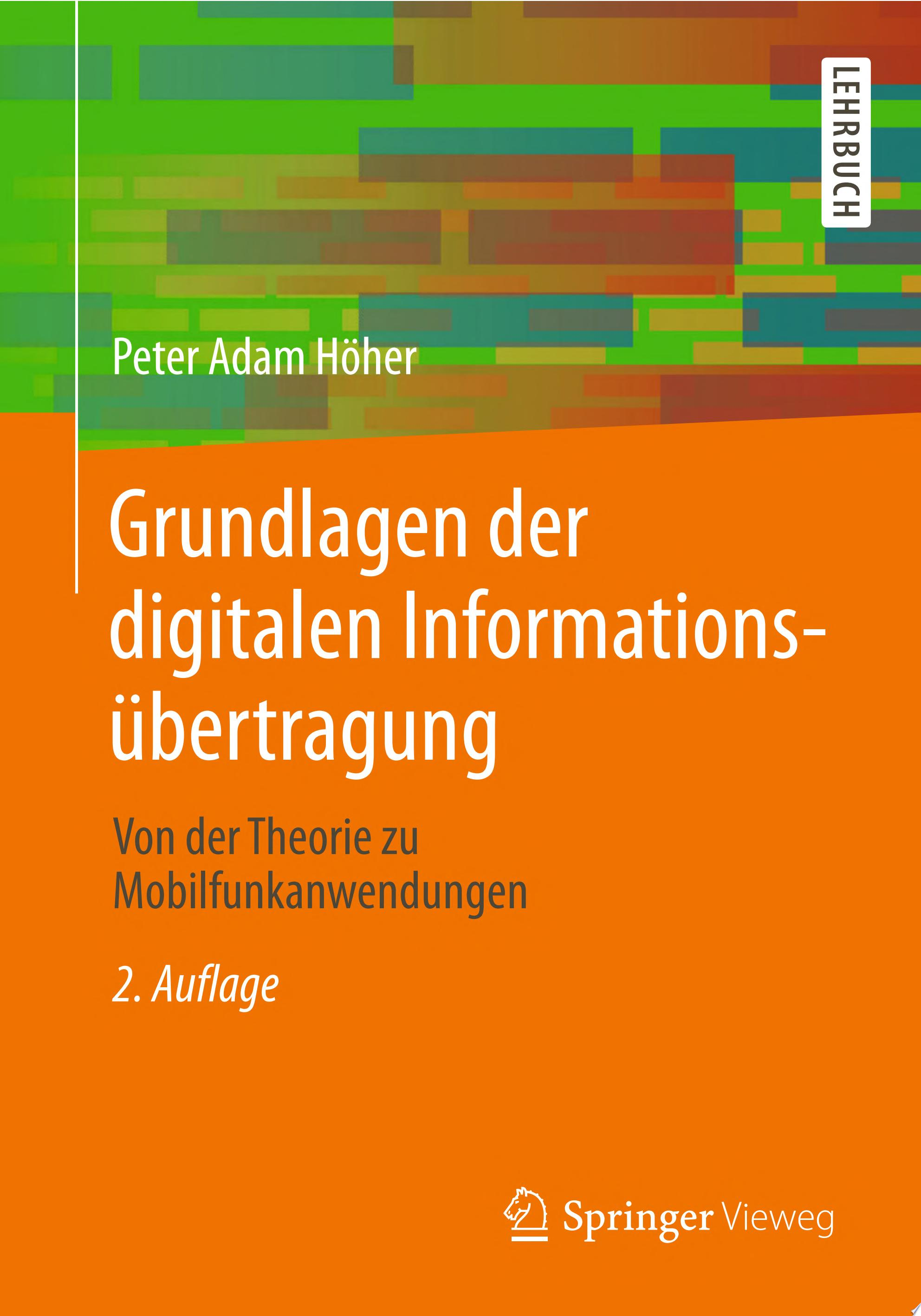 Grundlagen der digitalen Informations  bertragung