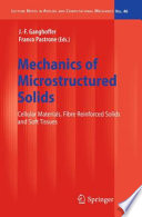 Mechanics of Microstructured Solids