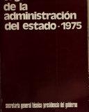 Organización de la administración del estado, 1975
