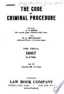 Sohoni's The Code of Criminal Procedure