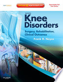 Noyes Knee Disorders Surgery Rehabilitation Clinical Outcomes E Book Book PDF