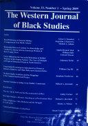 The Western Journal of Black Studies
