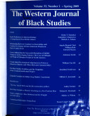 The Western Journal of Black Studies Book