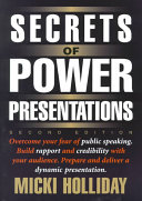 Secrets of Power Presentations Book PDF